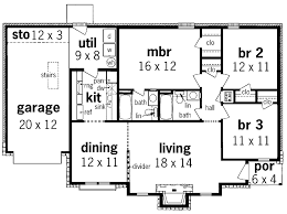 3 bedroom 2 story house plans modern 3 bedroom house plans no garage modern house design