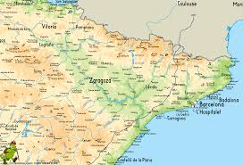 Andalucia Spain Map by Gr7 Andorra Tarifa