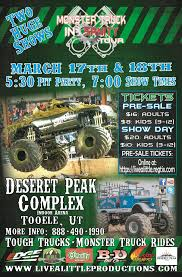 monster truck show houston tx monster truck insanity in tooele presented by live a little