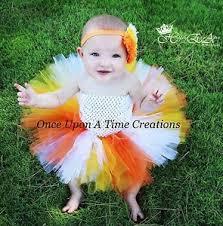 Candy Corn Halloween Costumes Candy Corn Tutu Dress Baby 3 6 12 2t Halloween Costume Orange