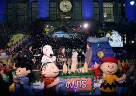 charlie brown christmas lights macy s celebrate 50th anniversary of a charlie brown christmas