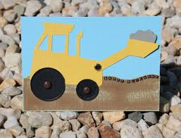 how to make a digger card for kids with moving parts craft u0027n u0027 home