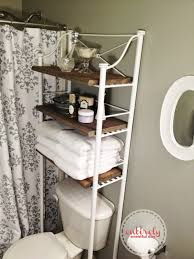 Bathroom Shelf Over Toilet by Bathroom Toilet Organizer Toilet Etagere Space Saver Cabinet