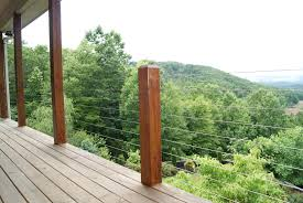 fresh deck railing cable diy home style tips beautiful under deck