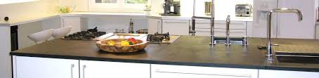 travail de cuisine ardoise cuisine plan de travail en ardoise sur mesure ou en