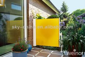 Side Awnings Coloful Aluminum Side Awning Durabil Seitenmarkise Buy
