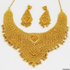 gold necklace india images Farhana jewellery collection world gold jewellery necklaces jpg