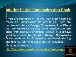 interior design companies abu dhabi video dailymotion