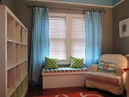 baby blue nursery curtains ideas