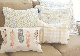 living room pillow decorating a brown living room or sofa