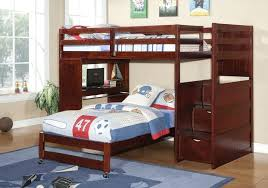 full size bunk bed with desk underneath enchanting twin bunk bed