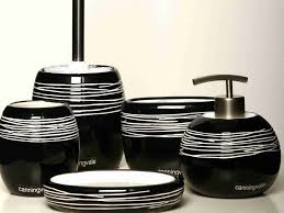 Modern Bathroom Accessories Sets Black Bathroom Accessories Sets Sorrentos Bistro Home