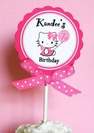 hello cupcake toppers 130 best child s birthday theme hello images on