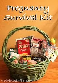 gifts for expecting pregnancy survival kit to be gift basket pregnancy