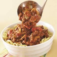 wedding gift spaghetti sauce hearty spaghetti sauce recipe taste of home