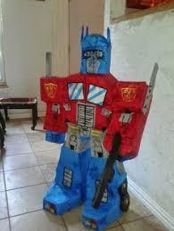 optimus prime pinata piñatas artesanales para eventos y fiestas como cumpleaños