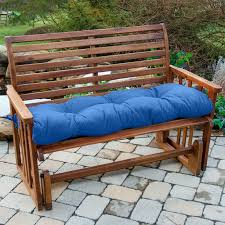 Bench Cushions For Outdoor Furniture by Blazing Needles 56 X 18 In Outdoor Standard Patio Bench Cushion