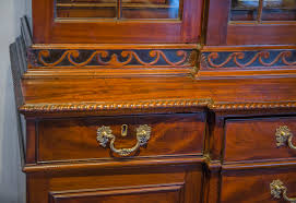 Antique Secretary Desk With Bookcase by George Iii Mahogany Breakfront Bookcase Secretary Sold