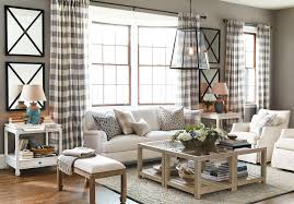 spring 2017 inspiration ballard designs how to decorate living room with buffalo check drapery panels from ballard designs