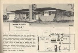 Mid Century Home Plans by Vintage House Plans 359 Antique Alter Ego