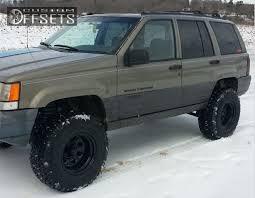 jeep grand 3 wheel offset 1997 jeep grand aggressive 1 outside fender