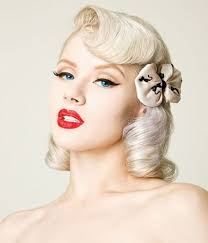 braided pinup hairstyles retro braided hairstyles 50s 60s and 70s bridal