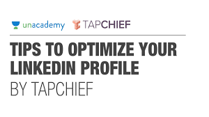 profile summary in resume for freshers fresher s job guide 3 5 tips to optimize your linkedin profile fresher s job guide 3 5 tips to optimize your linkedin profile by tapchief unacademy