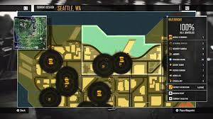 Map Queen Anne Seattle by Infamous Second Son Welcome To Seattle Seattle Map U0026 Legend