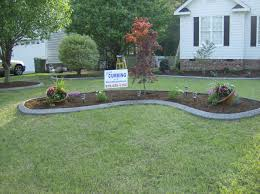 Backyard Flower Bed Designs Flowerbed Borders Royal Landscaping Services And Curbing