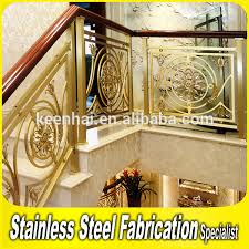 Brass Handrails Interior Antique Decorative Railing Design Brass Railing For