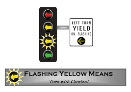 A Flashing Yellow Signal Light Means Flashing Yellow Arrows City Of Flagstaff Official Website