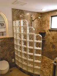 glass block bathroom designs fascinating bathroom design with glass block photos simple design