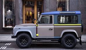 land rover bespoke bespoke paul smith land rover defender muted