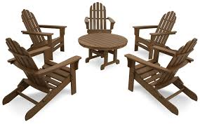 Patio Furniture Made From Recycled Plastic Milk Jugs Amazon Com Trex Outdoor Furniture Cape Cod Folding Adirondack