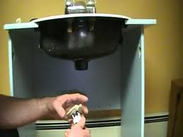 Install Bathroom Sink Plumbing Old Plumber Shows How To Install A Bathroom Sink Basin Drain