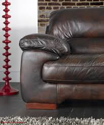 Karma Famous Brand   Seater Full Leather Sofa Brown The - Full leather sofas