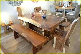 Dining Room Tables Made In Usa Dining Table Solid Wood Dining Table With Bench Solid Wood