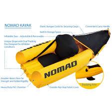 boats u0026 water sports walmart com blue wave sports nomad 1 person inflatable kayak gold walmart com