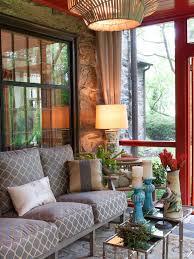 Glass For Sunroom Furniture Dark Indoor Sunroom Furniture With Decorative Cushions