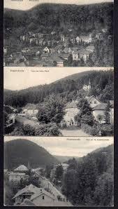Ak Ansichtskarte Friedrichroda Blick Vom Herzogsweg 3 Ansichtskarte Friedrichroda Herzogsweg1909kalter Markt 1910