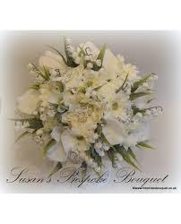Silk Bridal Bouquet Fancy Package Brides Bouquet Bridesmaid Posy 2 Flowergirl
