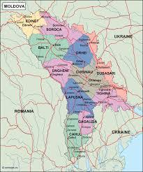 Moldova Map Moldova Political Map Illustrator Vector Eps Maps Order And