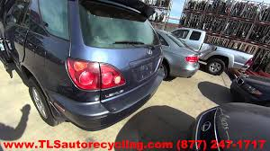 lexus rx300 coolant parting out 2000 lexus rx 300 stock 6046gr tls auto recycling