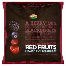 crop u0027s a juicy berry mix of red fruits 500g frozen fruit