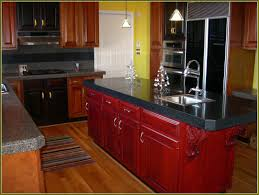 Red Cabinets Kitchen by Distressed Kitchen Cabinets Amazing Deluxe Home Design