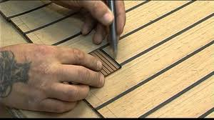 synthetic teak decking for boats with isiteek