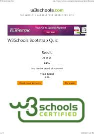 bootstrap tutorial pdf w3schools w3schools quiz test 1 638 jpg cb 1456374998