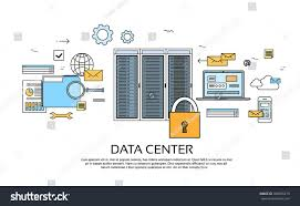 Data Center Floor Plan by Data Center Hosting Server Computer Device Stock Vector 386695219