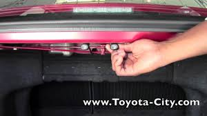 2012 toyota camry rear seat fold down how to by toyota