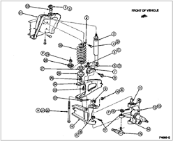 1994 ford f150 parts catalog ford f150 front suspension diagram questions answers with